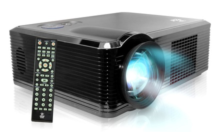 Pyle Widescreen HD Projector with Up to 100