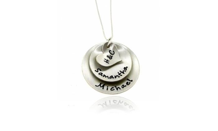 Hannah Design: Custom Initial Pendants in Sterling Silver
