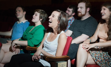 Improv or Scripted Comedy for One, Two, or Four at Under the Gun Theater (Up to 50% Off)