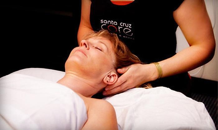 Santa Cruz Core Fitness + Rehab - Central Santa Cruz: One or Three Swedish Massages with a Wellness Consultation at Santa Cruz Core Fitness + Rehab (Up to 77% Off)