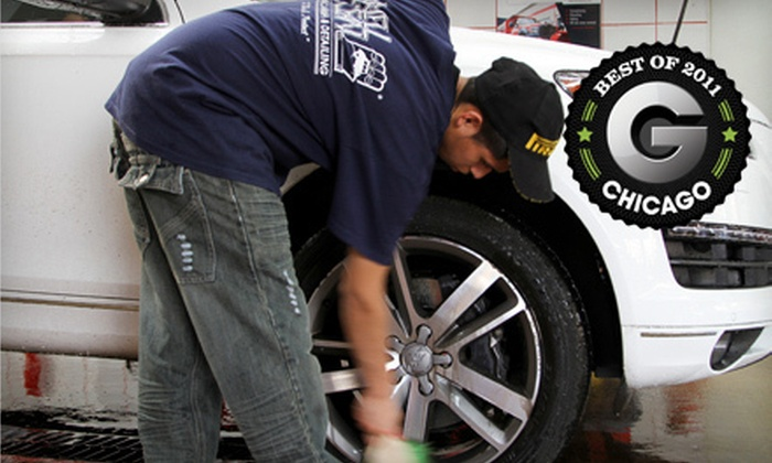 We'll Clean - Multiple Locations: Three Car Washes or One Full Interior and Exterior Detail at We'll Clean (Up to 64% Off)