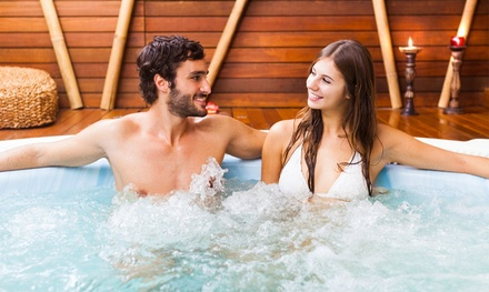 1- or 2-Night Stay for Two in a King Room with Jacuzzi Hot Tub at Soo Locks Lodge & Suites (Up to 54% Off)
