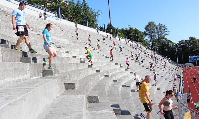 Unleashed at Stadium Bowl - New Tacoma: Registration to the Unleashed at Stadium Bowl Stair Climb Race on Sunday, August 3 (Up to 52% Off)