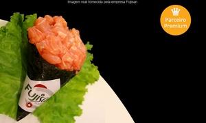 Fujisan - Lagoa da Conceição: Fusijan – Lagoa da Conceição: buffet de sushi para 2 pessoas