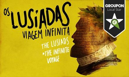 MUSGO — Quinta da Regaleira: bilhete duplo para a peça Os Lusíadas - Viagem Infinita por 8,40€