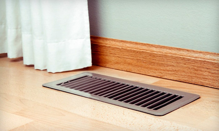 Quality Air - Piedmont Triad: Air-Duct Cleaning for Up to 12 Vents or Air-Duct Cleaning and Dryer-Vent Cleaning from Quality Air (Up to 86% Off)