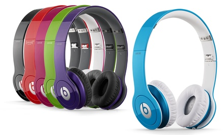 Groupon: $149.99 Beats by Dre Solo HD Headphones. Multiple Colors Available.