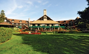 Fairmont Le Château Montebello: 1 or 2 Nights for Two at Fairmont Le Château Montebello in Montebello, QC. Check in Sun.–Thu. Combine Up to 4 Nights.