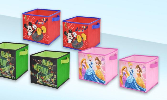 Kids Cartoon Storage Cubes Groupon Goods