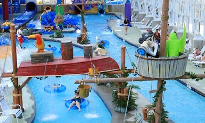 Big Splash Adventure Indoor Water Park & Resort - French Lick, IN: $159 for One-Night Stay for Four at Big Splash Adventure Indoor Water Park & Resort in French Lick (Up to $314 Value)