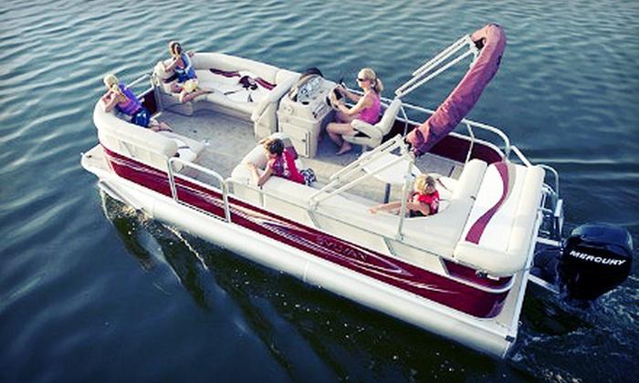 SkipperBud's - Madison: $199 for a Half-Day Pontoon or Fiberglass Boat Rental from SkipperBud's ($395 Value)