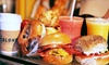Jaffa Bagels - Multiple Locations: Bagel Sandwiches, Mediterranean Plates, or Catering at Jaffa Bagels (Up to 31% Off)