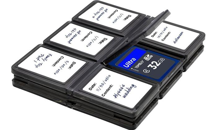 SD/SDHC Memory Card Case: Hard Plastic SD/SDHC Memory Card Case. Free Returns.