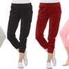 Coco Limon Velour and French Terry Capri Joggers (4-Pack) (Size M)