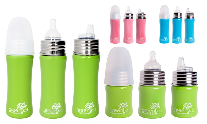 Groupon Goods: Green Kids Assorted S/S Bottles from R169 Including Delivery (50% Off)