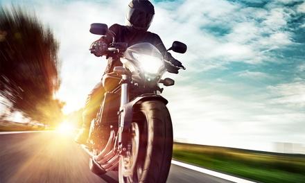 Wertgutschein anrechenbar auf eine Motorrad-Führerschein-Ausbildung (Klasse A) in der Fahrschule ABBV