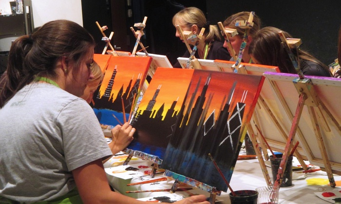 Byob Painting Class Arts N Spirits Groupon