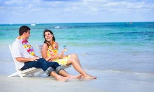 Le Bambou Beach: Offre duo comprenant 1 parasol, 2 transats et 2 cocktails du jour dès 24,90 € au Bambou Beach
