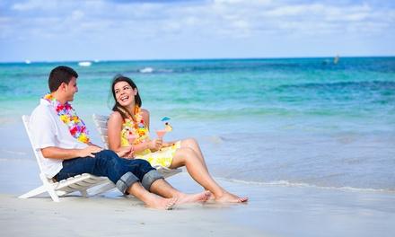 Offre duo comprenant 1 parasol, 2 transats et 2 cocktails du jour dès 24,90 € au Bambou Beach