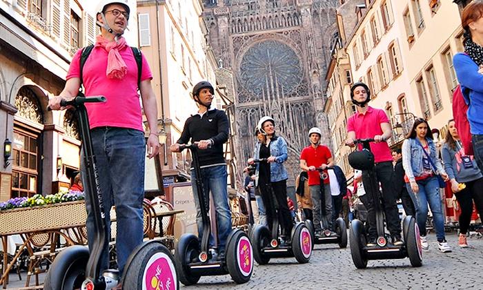 ONECITY TOURS - Strasbourg: Jusqu'à 1h30 d'initiation au Segway®pour 1 ou 2 personnes dès 29,90 € avec One City Tours
