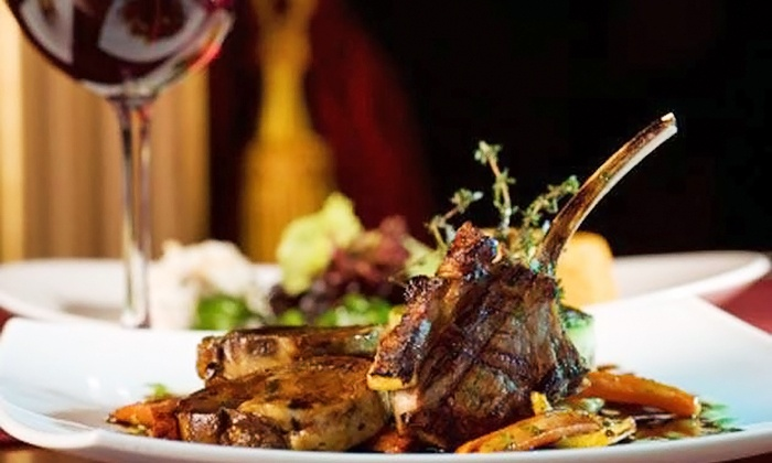 Steak Street - Steak Street: $30 for $60 Worth of Steaks, Seafood, and Southern Cuisine at Steak Street. Groupon Reservation Required.