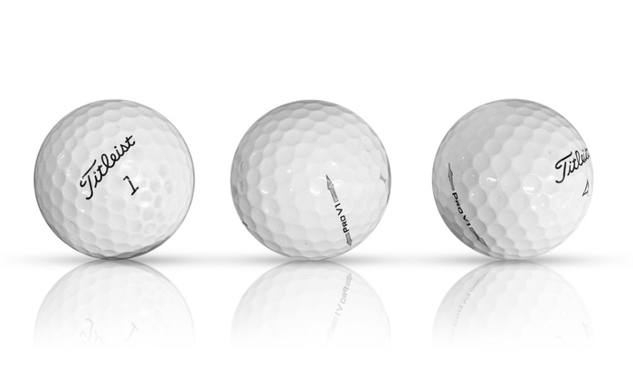 30-Pack Recycled Golf Balls
