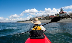 Alki Kayak Tours: $12 for $20 Towards Bike, Skate, SUP, or Kayak Rental from Alki Kayak Tours