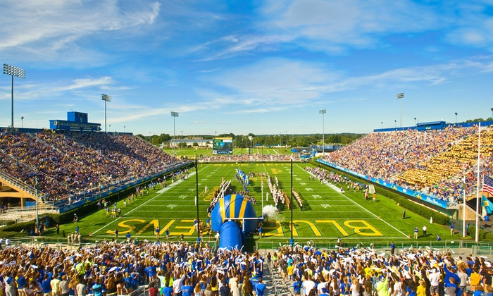 University of Delaware Blue Hens Football - Multiple Locations: University of Delaware Football Game at Delaware Stadium on November 16 (Up to 51% Off). Two Seating Options Available.