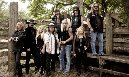 Lynyrd Skynyrd Concert for Two at Sam Houston Race Park on Saturday, August 23, at 6 p.m. (Up to 50% Off)