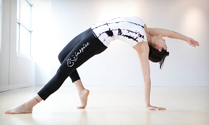 Inspire Yoga Studio - Inspire Yoga: $10 Toward Vinyasa Yoga Classes