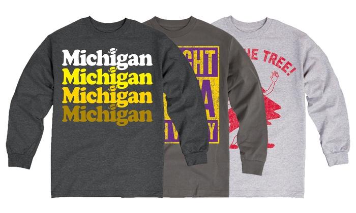 Men's College Football Team Sweatshirt