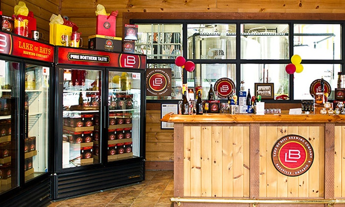 Lake of Bays Brewing Co. - Baysville: C$16for a Tour and Tasting with Souvenir Glasses and Coasters at Lake of Bays Brewing Co. (C$27Value)