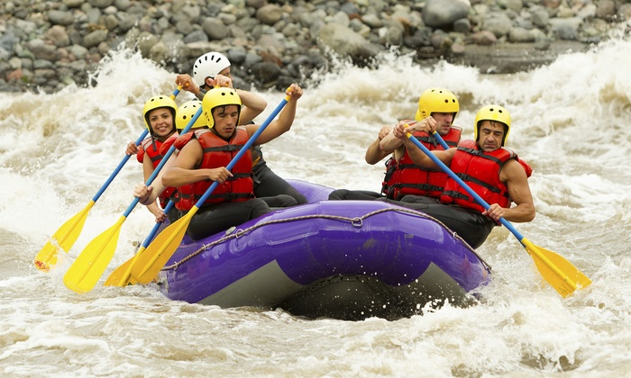 North American Outdoor Adventure - Moxie Outdoor Adventures: Weekday or Weekend Whitewater-Rafting Trip with a Barbecue Lunch (Up to 41% Off)