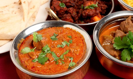 $12 for $24 Worth of Indian & Mediterranean Food at Qazi's Indian Curry House & Mediterranean Cuisine