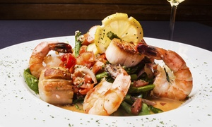 Wander Inn: Seafood and Italian Specialties at Wander Inn (Up to 50% Off). Four Options Available