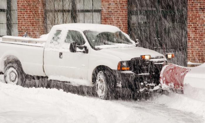 Breyne Lawn Service - Chicago: One or Two Snow-Removal Visits from Breyne Lawn Service (Up to Half Off)