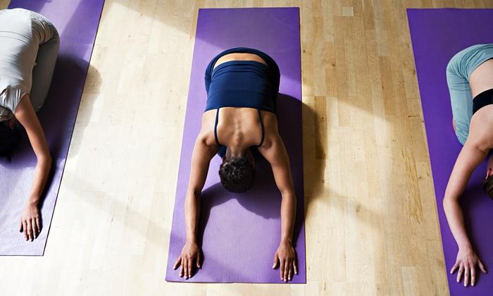 Yoga Trigo - Lone Tree: $59 for One Month of Unlimited Yoga Classes at Yoga Trigo ($129 Value)