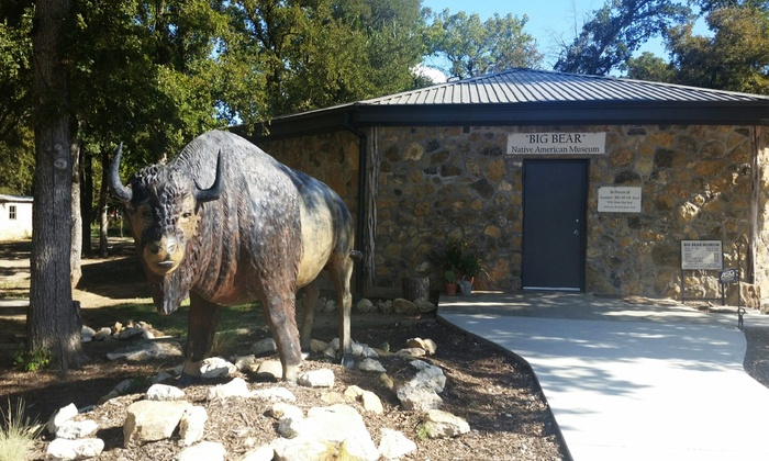 Chisholm Trail Museum - Chisholm Trail Museum: Visit for Two or Four to Big Bear Native American Museum (60% Off)