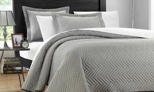 Portobello Reversible Quilt Set (2- or 3-Piece)