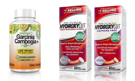 2-Pack of Hydroxycut Pro Clinical with Free Bottle of Garcinia Cambogia