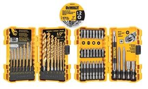 ERG DISTRIBUTORS: DeWalt Titanium Drill and Screwdriver Bit Set (70-Piece)