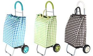 Trolley Dolly Basket Weave 2-in-1 Utility Cart