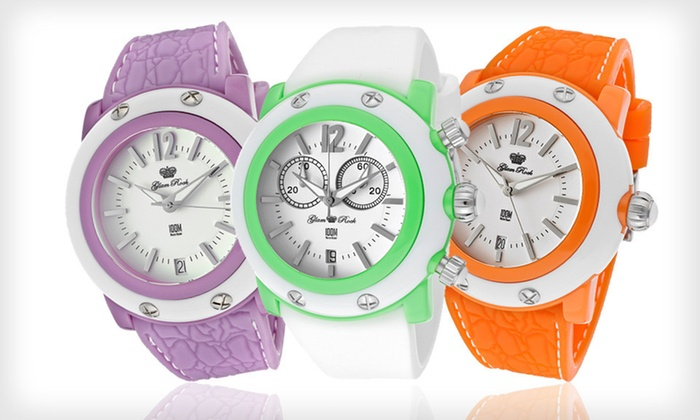 Glam Rock Watches: Glam Rock Watch (Up to 84% Off). 16 Styles Available. Free Shipping and Free Returns.
