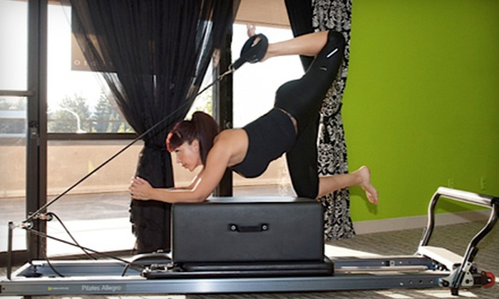Brand E Pilates - Hoover: 5 or 10 Group Pilates Reformer Classes at Brand E Pilates (Up to 56% Off)
