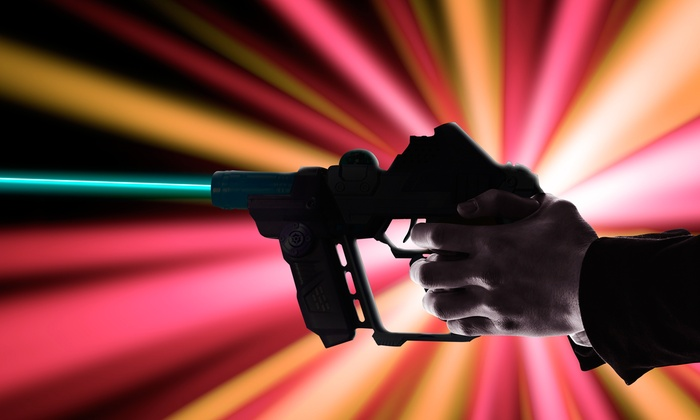 Warehouse Wars - North Las Vegas: Two Games of Laser Tag for Two or Four with Equipment Rental at Warehouse Wars (Up to 53% Off)