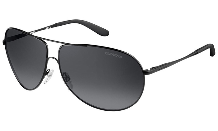 f70cde1f1b Carrera Gipsy Men s Modified Aviator Sunglasses Matte Black 0003-HD  NEWGIPSY-0003-HD