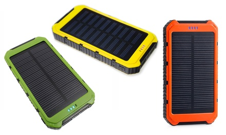 One, Two or Three 10000mAh Solar Chargeable Power Banks