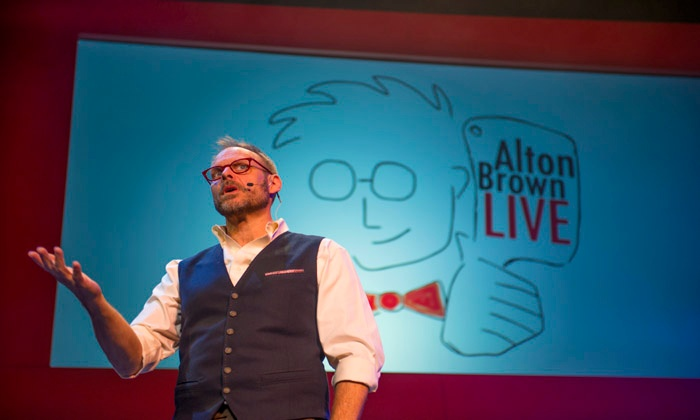 Alton Brown - Sony Centre For The Performing Arts: Alton Brown Live! The Edible Inevitable Tour on Friday, March 27 (Up to 25% Off)