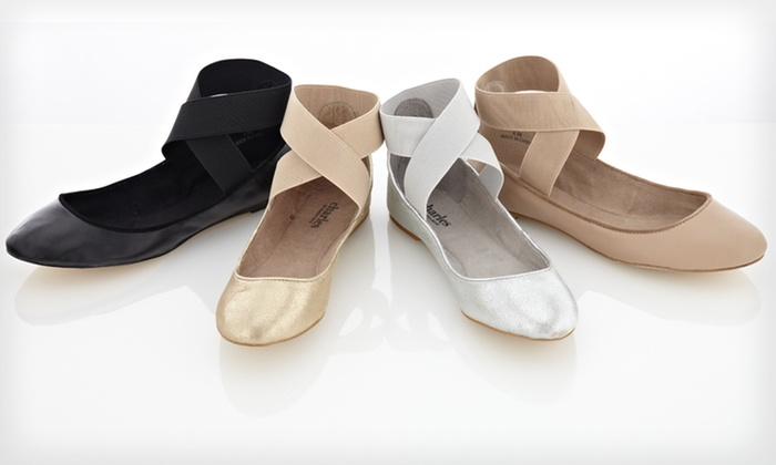 Charles David Ballet Flats: $44.99 for Charles David Ballet Flats ($125 List Price). Multiple Sizes and Colors Available. Free Shipping and Returns.