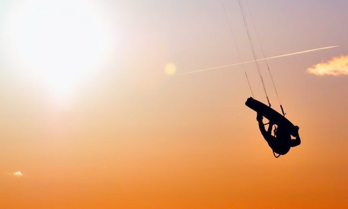 West Michigan Kiteboarding - Pere Marquette Beach: $175 for a Three-Hour Kiteboarding or Snowkiting Lesson at West Michigan Kiteboarding ($350 Value)